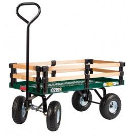 Chariot métal et bois