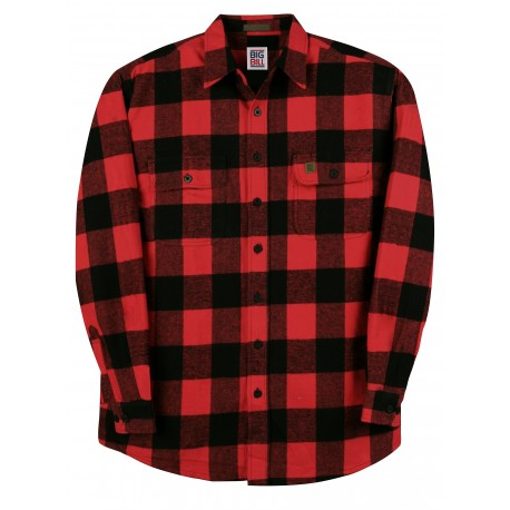 Big Bill - Men's Browny flannel shirt